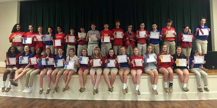 School Science Fair Awards