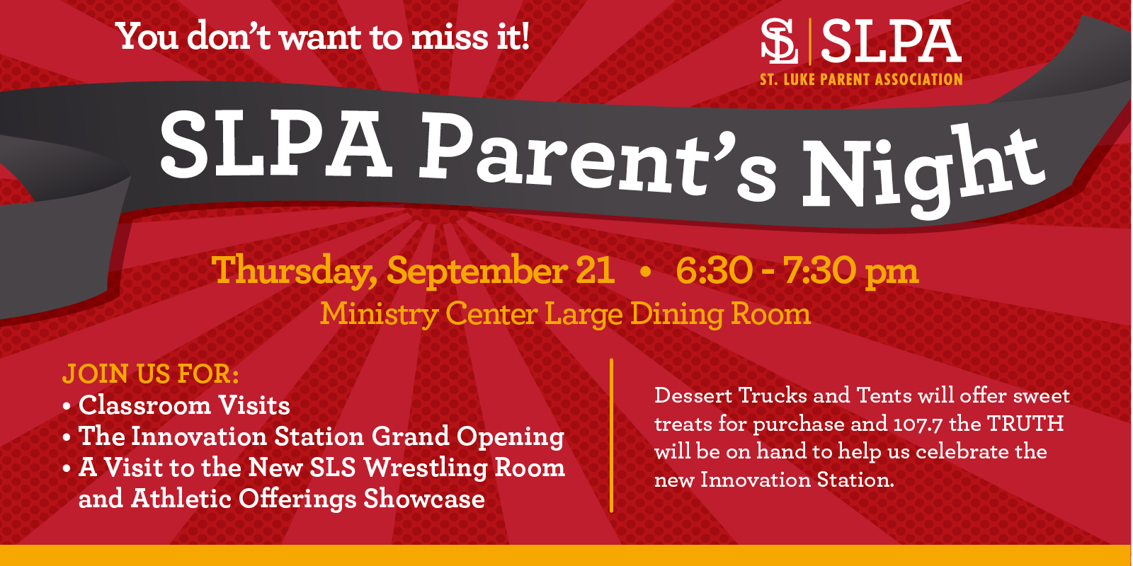 It's Time for Parents' Night!